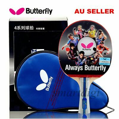 Butterfly TBC402 Table Tennis Ping Pong Racket Paddle Bat Blade FL NEW