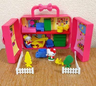 Sanrio Hello Kitty Vintage doll house Play house in original box Collectible