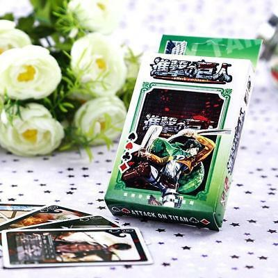 Collect!Japanese Anime Attack on Titan Poker Cards Playing Cards