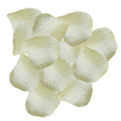 1000 Pcs Heart Shaped Red Rose Petals,Ivory white ST