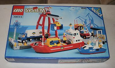 LEGO Town 6542 Launch & Load Seaport Vintage Very Rare ~NEW~ 1991
