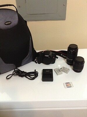 Canon - EOS Rebel T3i DSLR Camera with 18-55mm IS II Lens - Black