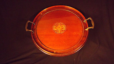 MANNING BOWMAN QUALITY WOOD SERVING TRAY