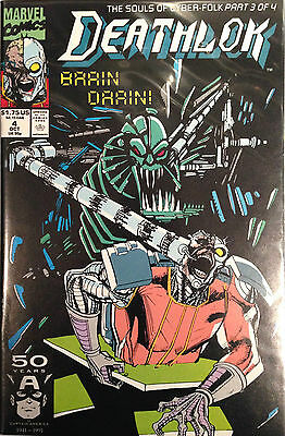 Deathlok (Vol 2) #4 NM- 1st Print Free UK P&P Marvel Comics