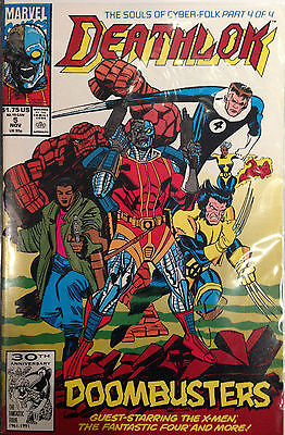 Deathlok (Vol 2) #5 NM- 1st Print Free UK P&P Marvel Comics