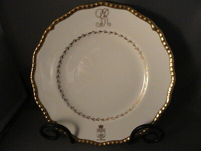 ROYAL DOULTON  LUNCHEON PLATE USED MY KING GEORGE VI, JUNE 13TH, 1939