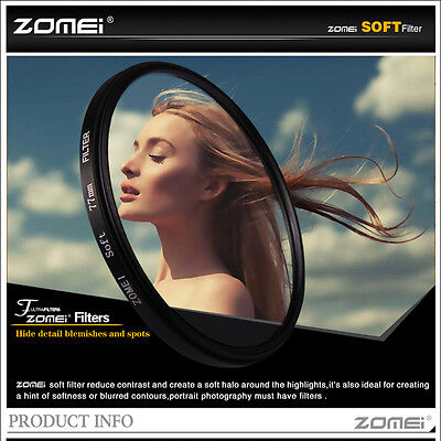 ZOMEI 67mm Soft filter Focus Special Effect Diffuser for Nikon Canon camera lens
