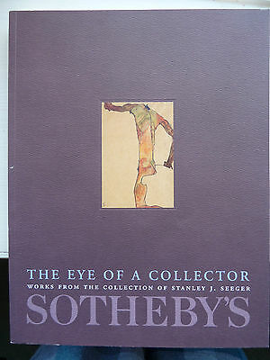 SOTHEBY'S NY 8 & 9 MAY 2001 THE EYE OF A COLLECTOR/STANLEY J. SEEGER COLLECTION