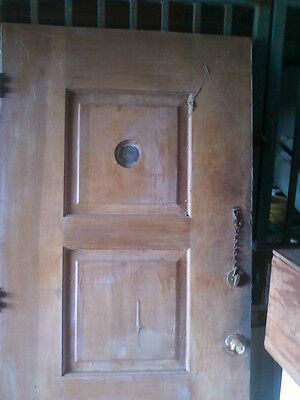 100 plus year old solid core wood doors