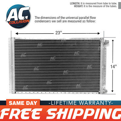 CNFP1423 AC A/C  Universal Condenser Parallel Flow 14 x 23 O-ring #6 & #8