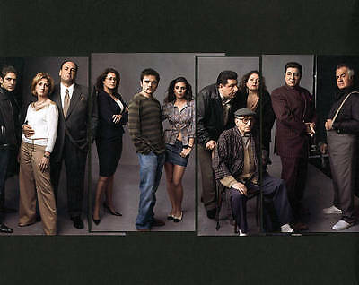 The Sopranos - The Complete Series (DVD, 2012, 30-Disc Set)