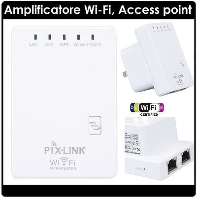 New 300Mbps Mini Wireless WiFi Router Repeater Network Range Expander Amplifier
