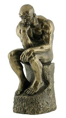 NEW! Veronese Bronze Replica of Auguste Rodin's ~ THE THINKER' Sculpture Statue