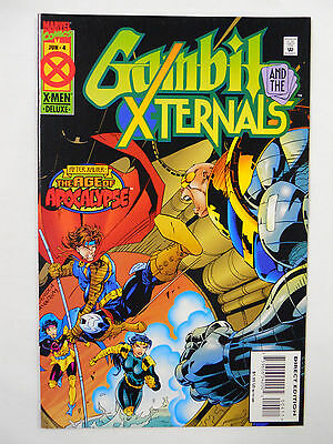 VINTAGE! Marvel Comics Gambit and the X-Ternals #4 (1995)
