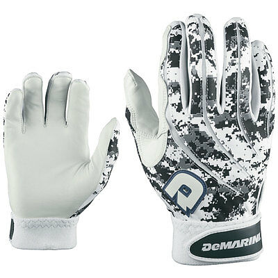 DeMarini Digi Camo Adult Baseball/Softball Batting Gloves - Black - Small