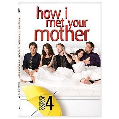 How I Met Your Mother The Complete Season 4 (DVD, 2009, 3-Disc Set) Fourth