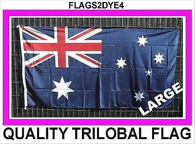 Australian flag includes free DELIVERY AUSTRALIA POST TRACKING