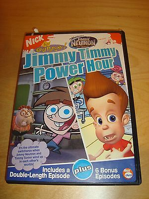 NICKELODEON Jimmy Timmy Power Hour The Fairly Odd Parents/Jimmy Neutron/2004 DVD