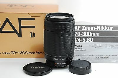 EXC Nikon ED AF Nikkor 70-300mm f/4-5.6 D ZOOM From Japan #124