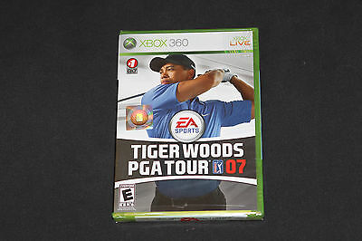 Tiger Woods PGA Tour 07 (Xbox 360) *NEW - FACTORY SEALED* Unopened