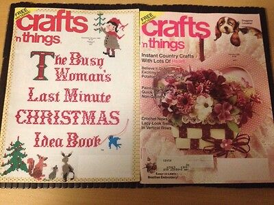 Lot 2 Crafts N Things - Christmas  Idea - Gifts Patterns~ Heart Crafts 1989