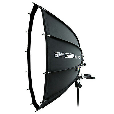 "SMDV Soft-box Dodecagon Diffuser 70 26"" for Quantum Flash Speed-light Speed-lite"