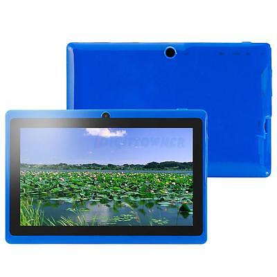 """7"""" Tablet 8GB Android 4.4 KitKat Cortex-A7 Quad Core 512MB/DDR3 MID Wifi 3G Blue"""