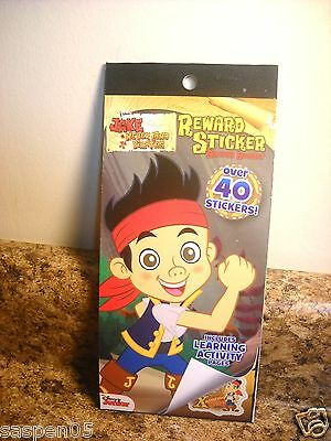 Disney JAKE AND THE NEVERLAND PIRATES Reward Sticker and Activity Book NEW