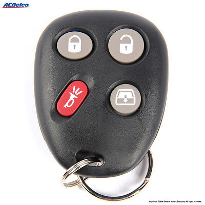 Key Fob ACDelco GM Original Equipment 15135557 fits 04-05 GMC Envoy XUV