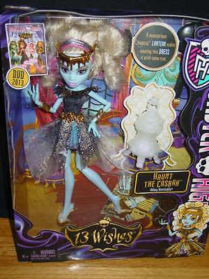 MONSTER HIGH 13 WISHES  HAUNT THE CASBAH   ABBEY BOMINABLE  2012   NEW IN BOX