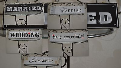 wedding car decoration , registration plates 5 types