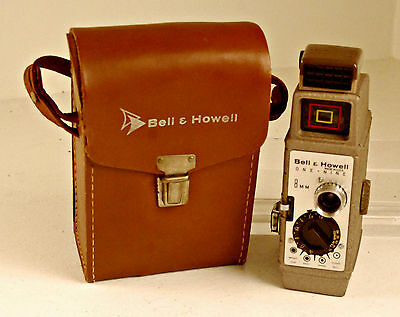 Bell & Howell One-Nine 8MM Movie Camera