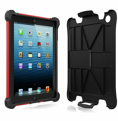 BALLISTIC SA0660-M355 Tough Jacket Case for Apple iPad 2 3 4 - Black/Red