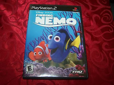 Finding Nemo  (Sony PlayStation 2, 2003) COMPLETE!Black Label