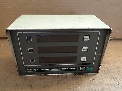 Mitutoyo 3-Axis Digital Read Out DRO Linear Scale Counter 164-659A AL-335L