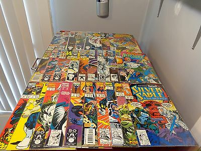 Marvel Comics Guest Starring The Punisher Mixed Comic book lot of 26