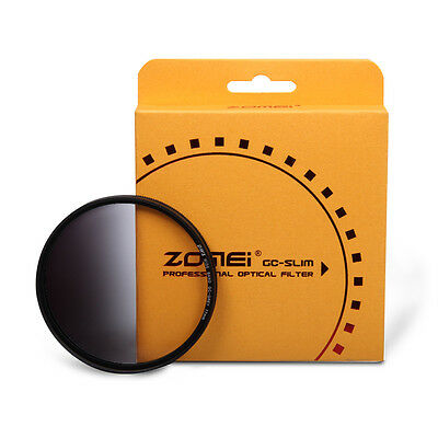 Zomei 58mm Slim Optical Resin Graduated Grey ND Filter for Canon Nikon camera
