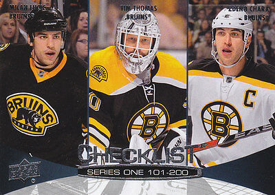2010-11 + 2011-12 Upper Deck Series 1 and 2 Hockey - Pick 20 Cards From List!