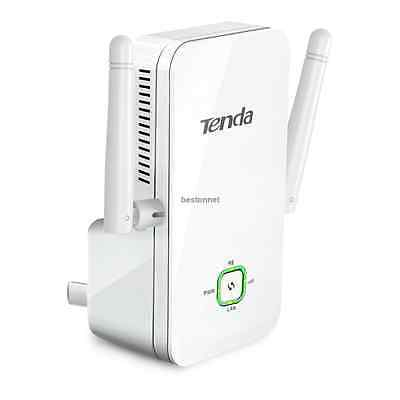 Tenda A301 300Mbps 802.11N WiFi Repeater Wireless Range Extender Booster US Plug