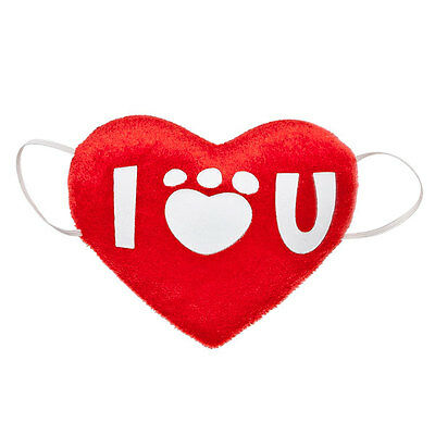 Build a Bear Accessory - Red I Love You Heart Pillow - Valentine's Day - New