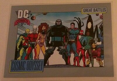 GREAT BATTLES COSMIC ODYSSEY #157 DC COSMIC CARD SERIES 1 1991 1992