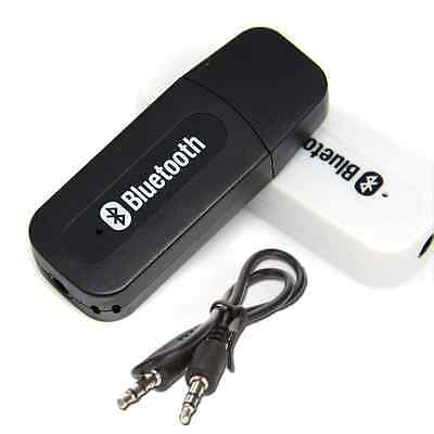 New USB Wireless Bluetooth Audio Music Speaker AUX Receiver Adapter Dongle Eforc