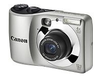 Canon PowerShot A1200 12.1 MP Digital Camera Silver New!