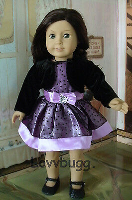 """Purple Passion Dress Jacket for 18"""" American Girl Doll Clothes Widest Selection"""