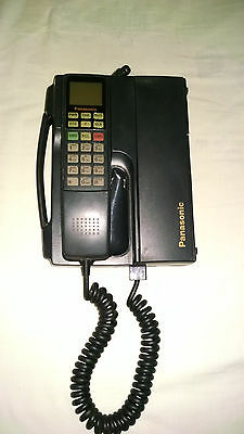 VINTAGE PANASONIC TELEPHONE TRANSCEIVER CELL PHONE CAR PHONE. OFFERS OPEN.
