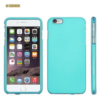 "for APPLE iPhone 6 PLUS 5.5"" BLUE HARD SKIN COVER CASE + CLEAR SCREEN PROTECTOR"