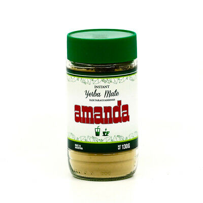 Amanda Instant Yerba Mate Tea Powder 130g - Produced in Argentina