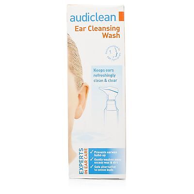 Audiclean 115ml Ear Cleaning Sea Serum Wash Prevent Wax Adults Child 2+ Refresh