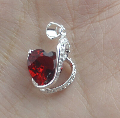 1pcs  925Sterling silver Crystal charms pendant  K555