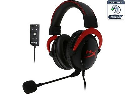 HyperX Cloud II Gaming Headset with 7.1 Virtual Surround Sound for PC/PS4/Mac/Mo